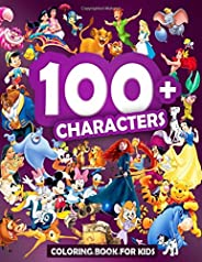 100+ CHARACTERS: JUMBO Coloring Book For Kids