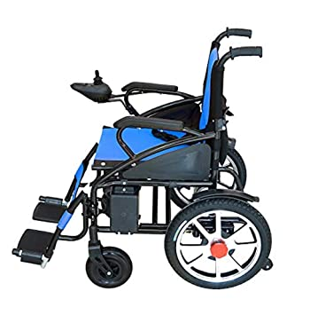 Amazon.com: 2019 New Majestic Buvan Electric Wheelchairs Silla de ...