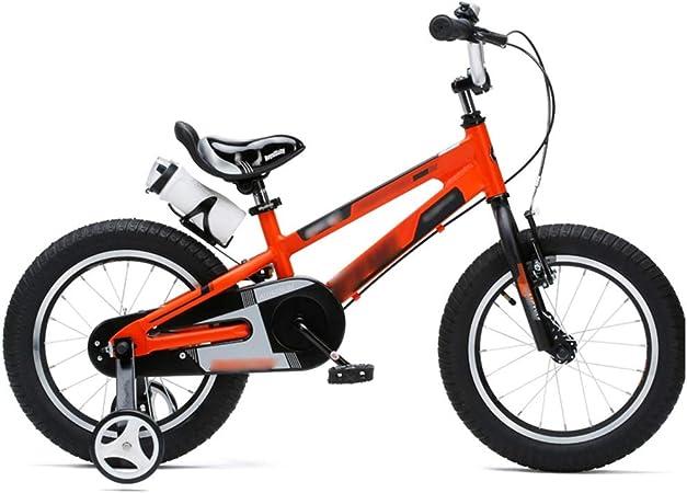 LJJL Bicicleta para Niños De Niña De Aluminio para Niños 12 ...