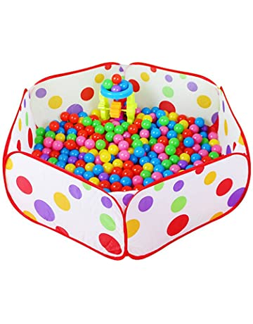 JUNGEN Bolas de océano Juego Bolas Piscina Interior niños Juego Juguete Tienda Exterior Portable Ocean Ball