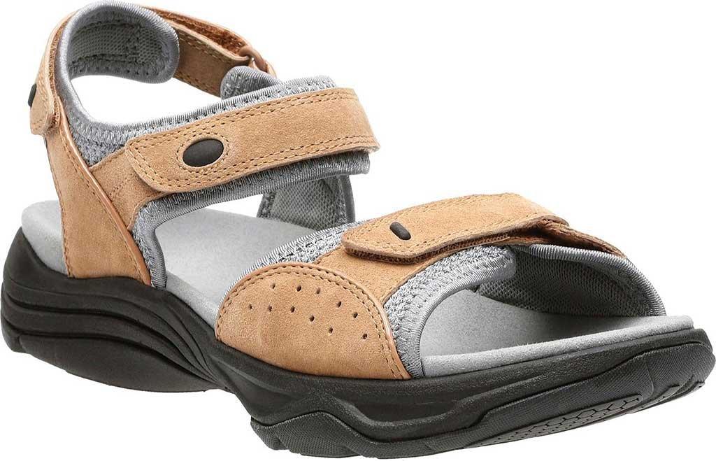 CLARKS Women's Wave Grip Sandal B01IAND1ZO 7.5 C/D US|Smokey Brown