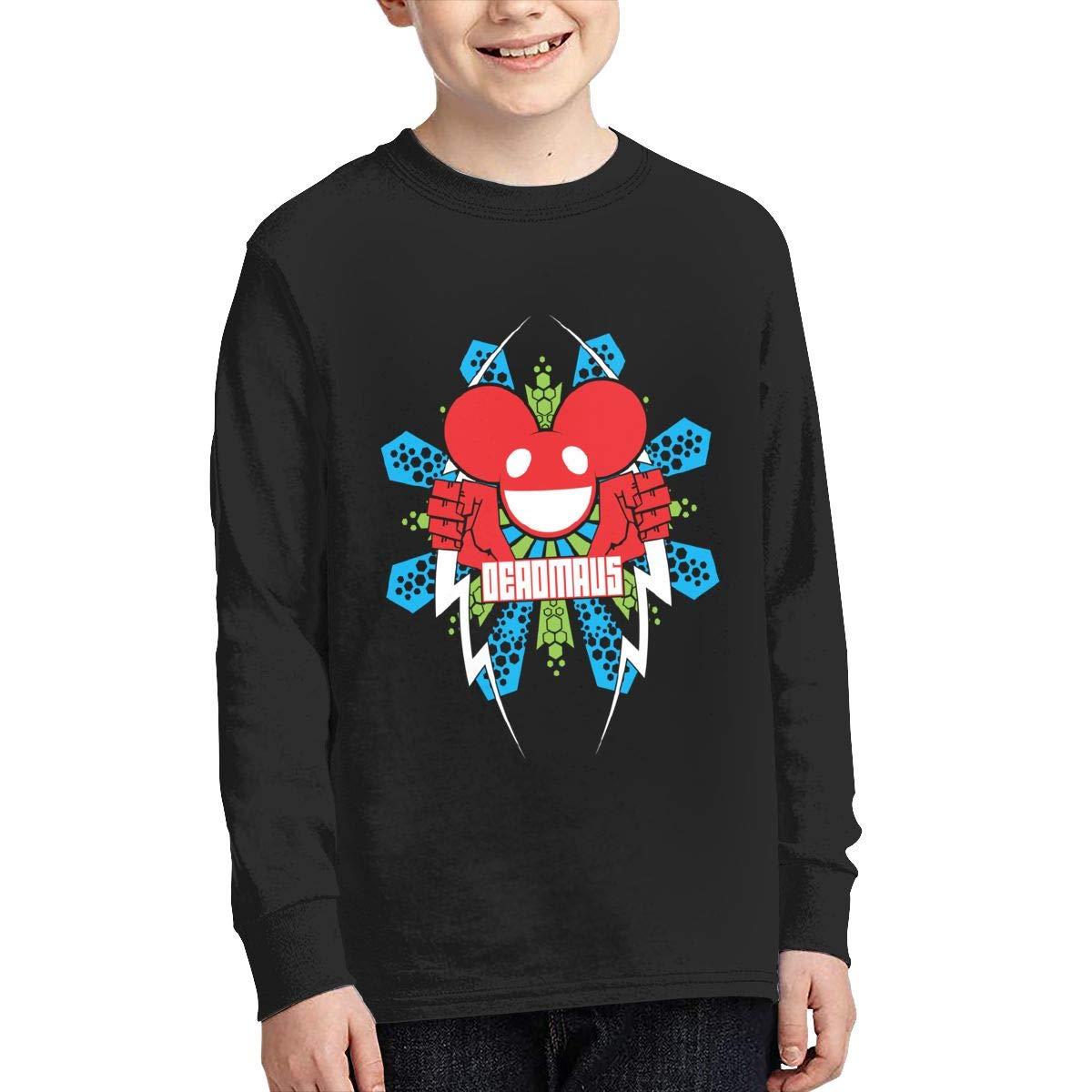 RyanCSchmitt Deadmau5 Youth Boys Girls Funny Long Sleeves T Shirt Fashion Youth Tee Shirts