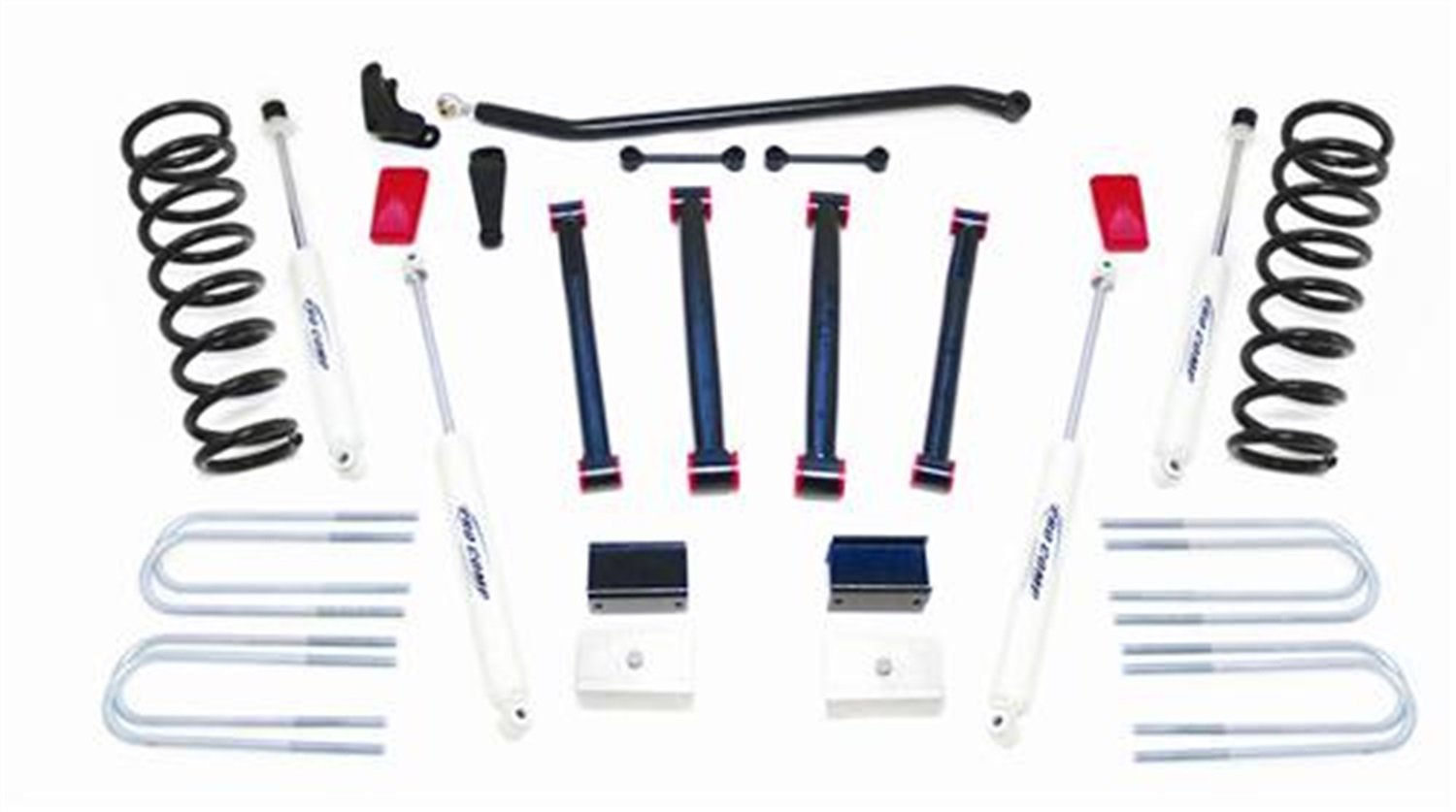 Block and ES9000 Shocks for RAM 2500 4WD 03-05 Pro Comp K2066B 6 Lift Kit with Coil