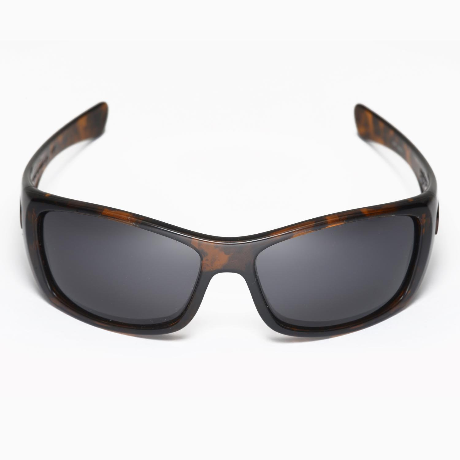 db19380ab3 New Walleva Polarized Black + Titanium Lenses For Oakley Hijinx  Amazon.in   Clothing   Accessories