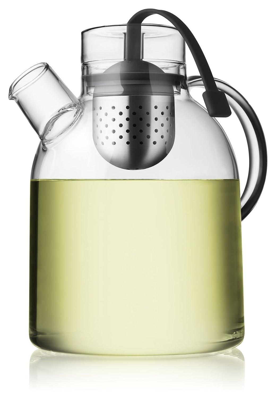 Tetera de cristal minimalista, 1,5 litros. Estilo elegante.