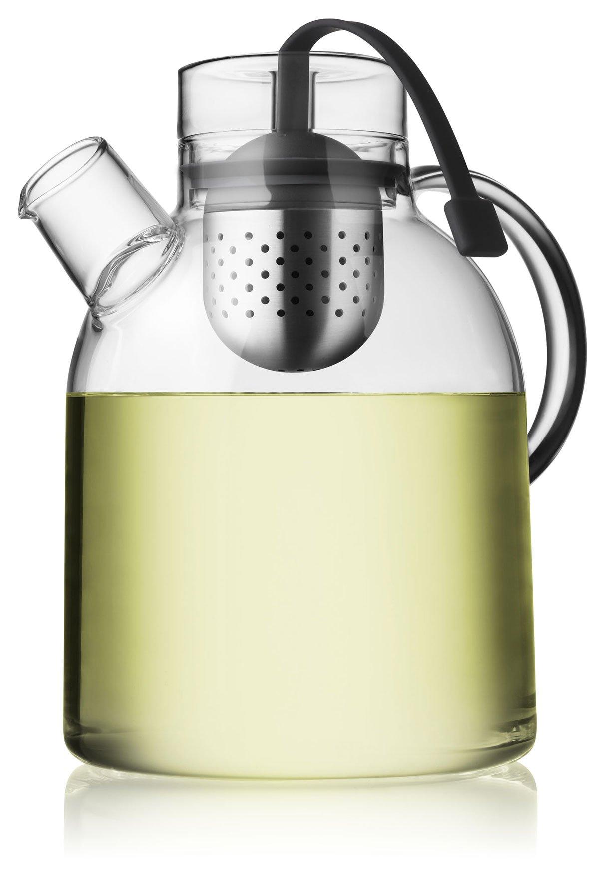 Menu 1-1/2-Liter Kettle Teapot, Glass with Tea Egg