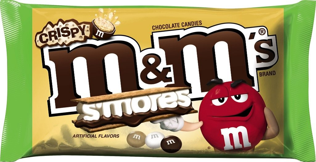 M&M'S S'mores Crispy Chocolate Candy