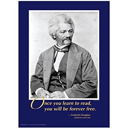 learning to read douglass