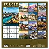 "Time Factory Europe 12"" x 12"" January -December 2019 Wall Calendar (19-1049)"
