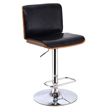 Fabulous Amazon Com Costway Bentwood Bar Stool Height Adjustable Dailytribune Chair Design For Home Dailytribuneorg