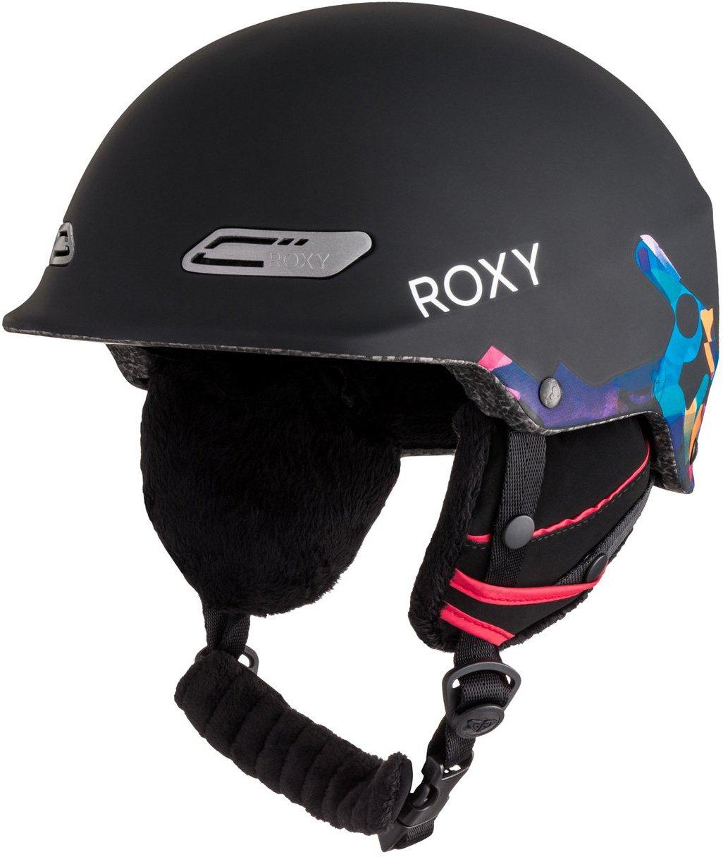 Roxy – Womens電源パウダーヘルメット B0725PJWJY  ブラック 58cm