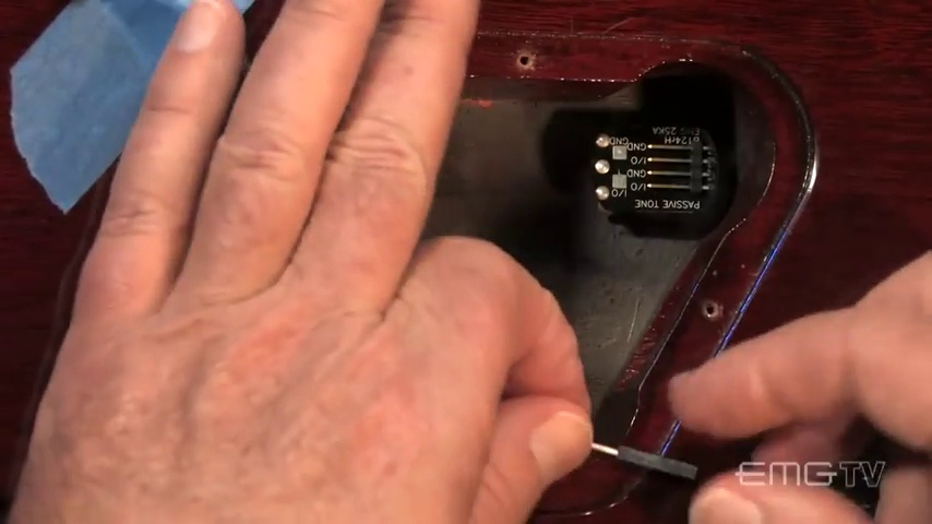 EMG ZW Zakk Wylde Signature Humbucker Guitar Pickup Set, Black