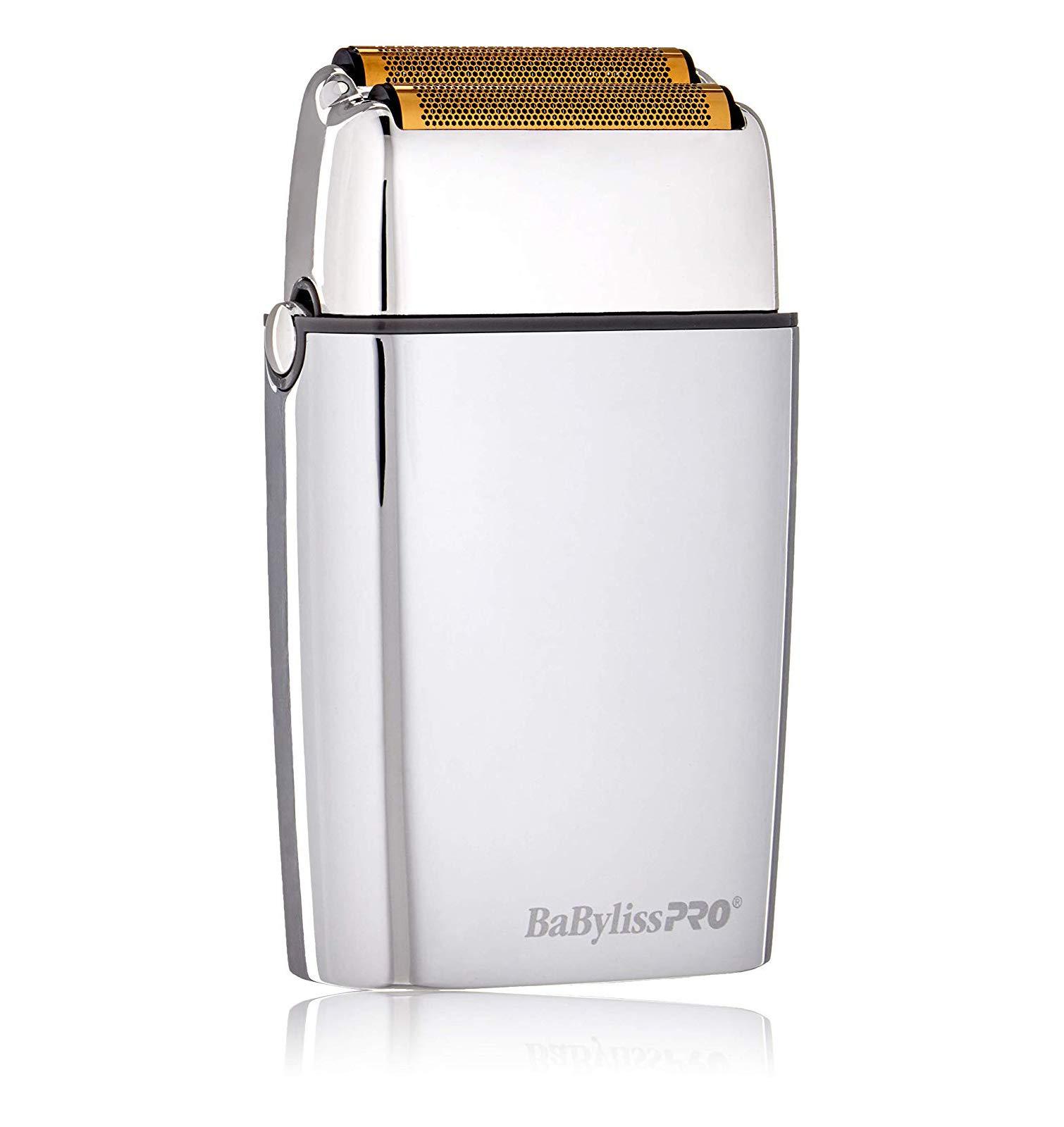 babylisspro barberology cordless metal - 61gTa1E1QmL - BaBylissPRO Barberology Cordless Metal Double Foil Shaver