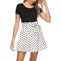 Zattcas Womens Summer Casual Sleeveless Tank Maxi Dress Scoop Neck Empire Vintage Long Dresses