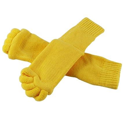 edgeam Unisex Wellness Toe calcetines Toe esparcidor Pedicura Flip Flops Titulaire salud masaje de los pies