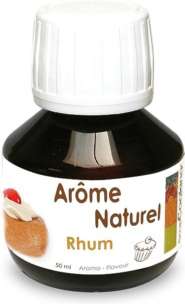 Aroma alimentario de Ron - 50 ml: Amazon.es: Hogar