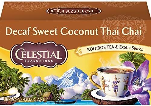 Tea Bags: Celestial Seasonings Chai