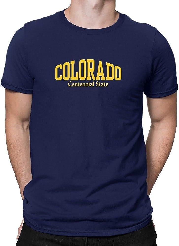 Teeburon Colorado State Nickname Camiseta: Amazon.es: Ropa y accesorios