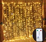 Best OUTOP Christmas Trees - Outop 304LED 9.8FT Remote Controller Window Curtain Lights Review