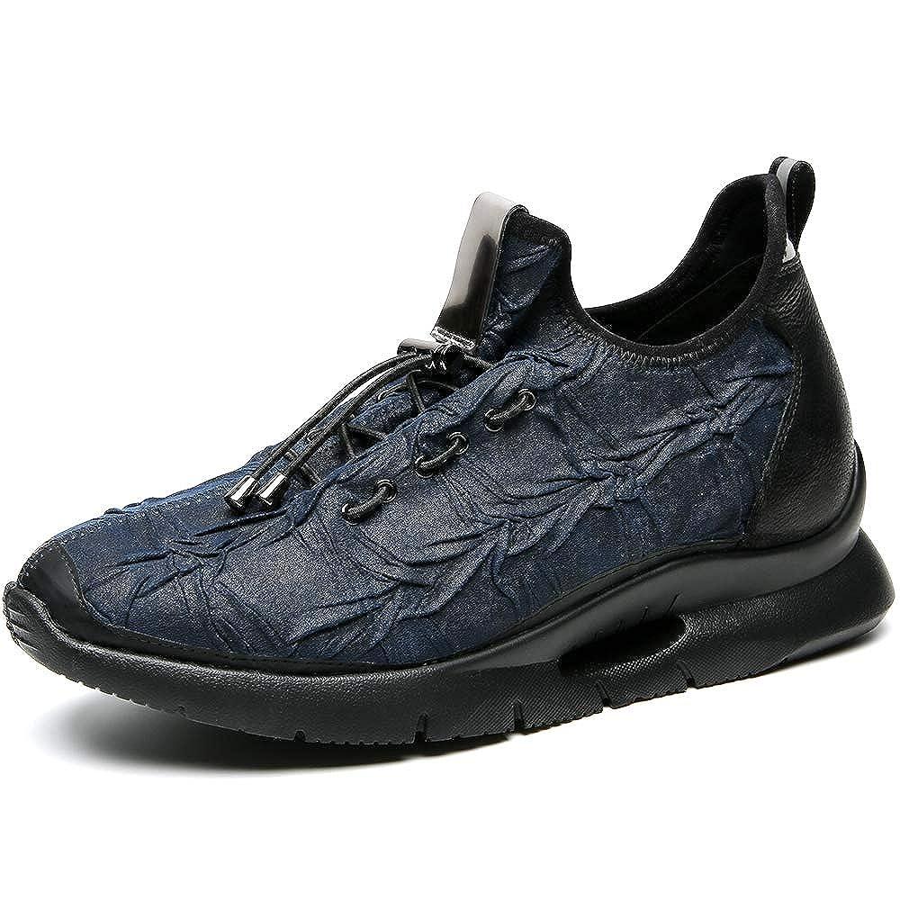CHAMARIPA High Heels erhöhen die Höhe der Schuhe Erhöhte Schuhe Elevator Turnschuhe Herren Sportschuhe - größer 2,76 Inch - H82C103D061D