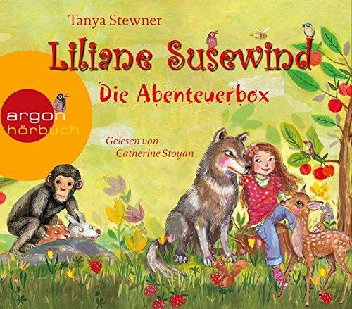 Liliane Susewind – Die Abenteuerbox: Inhalt: Rückt dem Wolf nicht auf den Pelz!, Ein Panda ist kein Känguruh, Schimpansen macht man nicht zum Affen, Ein kleines Reh allein im Schnee