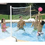 Dunnrite AquaVolly Swimming Pool Volleyball Set