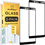 Mr.Shield Screen Protector Compatible For Nokia 7 Plus [2-Pack] [Japan Tempered Glass] [9H Hardness] [Full Cover]
