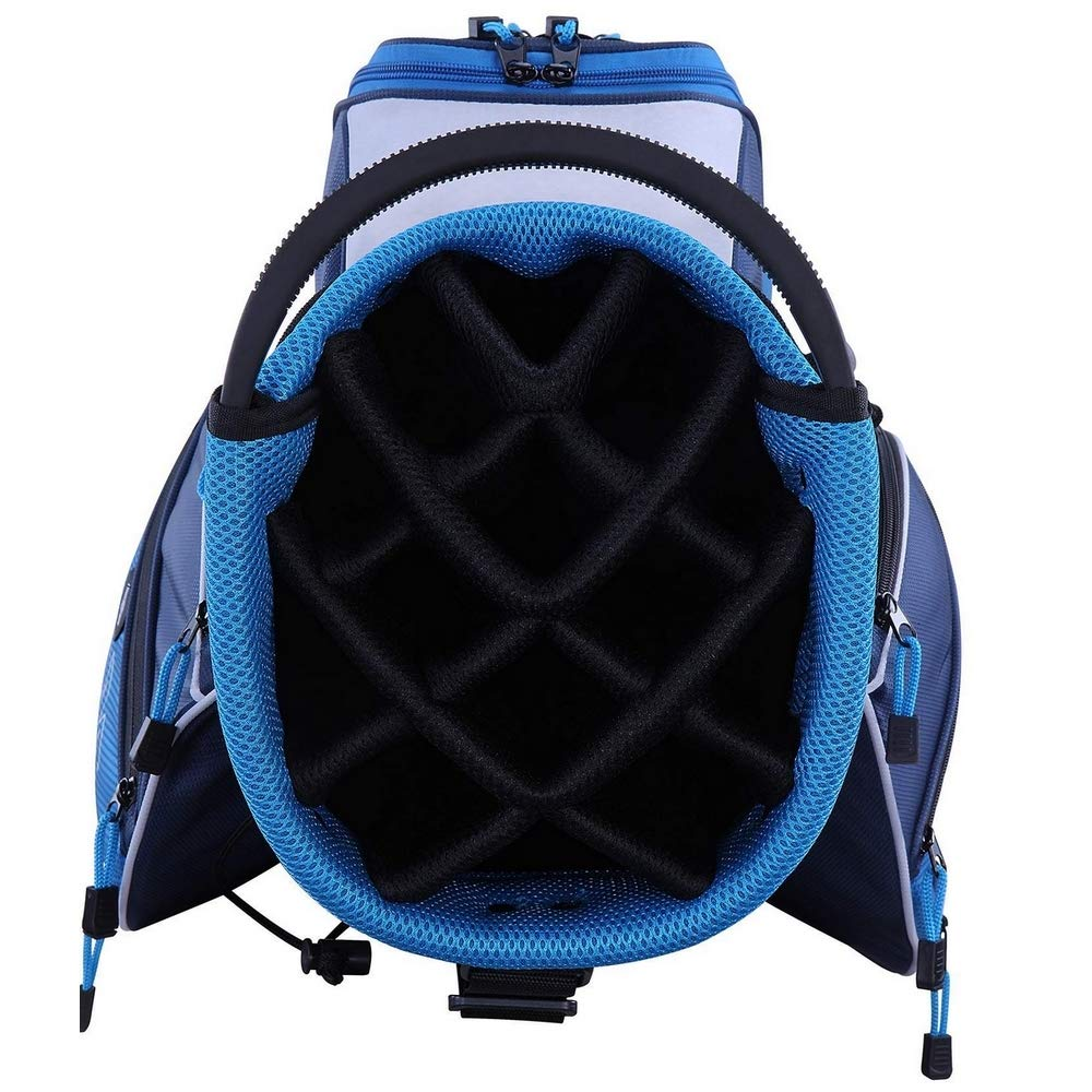 RAM Golf Lightweight Ladies Cart Bag with 14 Way Full Length Dividers Blue/White by RAM (Image #3)