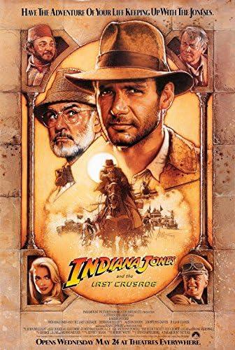 Original Poster Indiana Jones and the Last Crusade