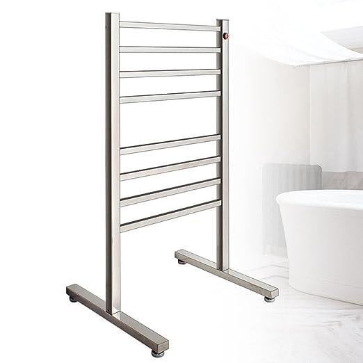 TT Toallero eléctrico toallero para baño tendedero de Acero ...