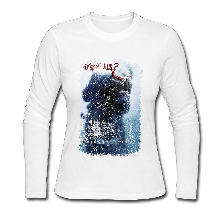 USM-Women's Dark Knight- Serious Teaser Long Sleeve Shirt Shirt.