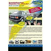 Convertible Plastic Top Roof Tarpaulin Tarp Repair Kit Soft Top Repair Vinyl Top Repair Black