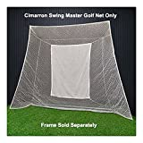 Cimarron Sports Training Aids Swing Master Golf Net and Frame
