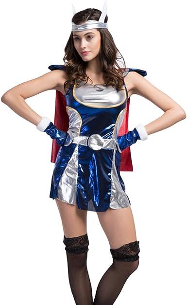 Traje de Neopreno para Mujer Sexy Thor/Superman Disfraz Infantil ...