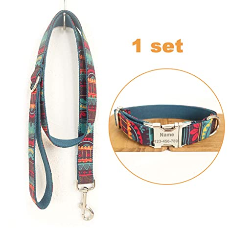 Conjunto Personalizado de Collar de Perro Estilo Bohemio Ajustable ...