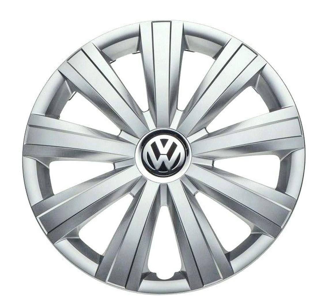 Genuine OEM VW Hub Cap Jetta-Sedan 2011-2014 9-Spoke Cover Fits 15-Inch Wheel