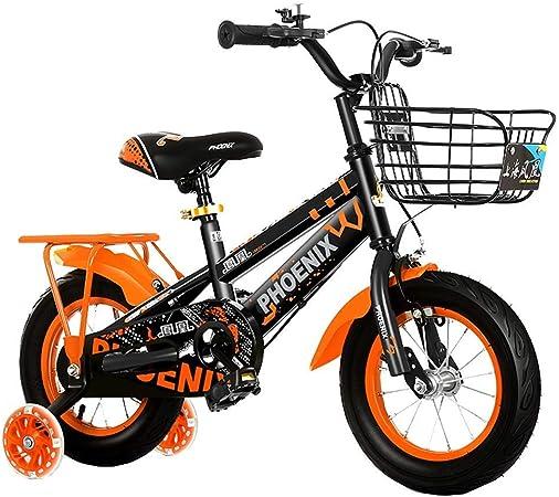 Llpeng Aprendizaje de Bicicletas niños 12/14 Pulgadas Bicicleta de ...
