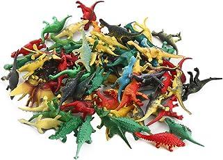 FunsLane - Juego de dinosaurios (plástico, 72 piezas)