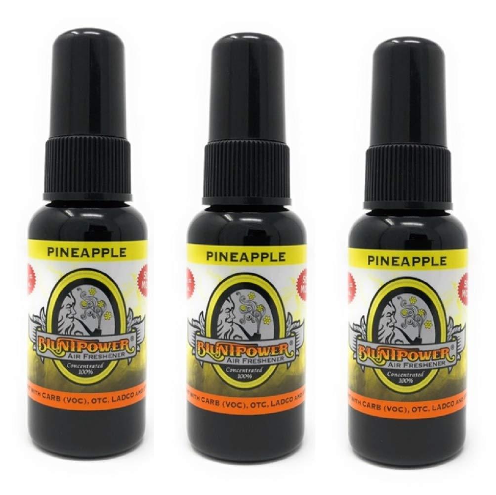 Bluntpower 1 Ounce Bottle Oil Based Air Freshener Oil for Burner Pineapple 3-pack by Blunt Power (Image #1)