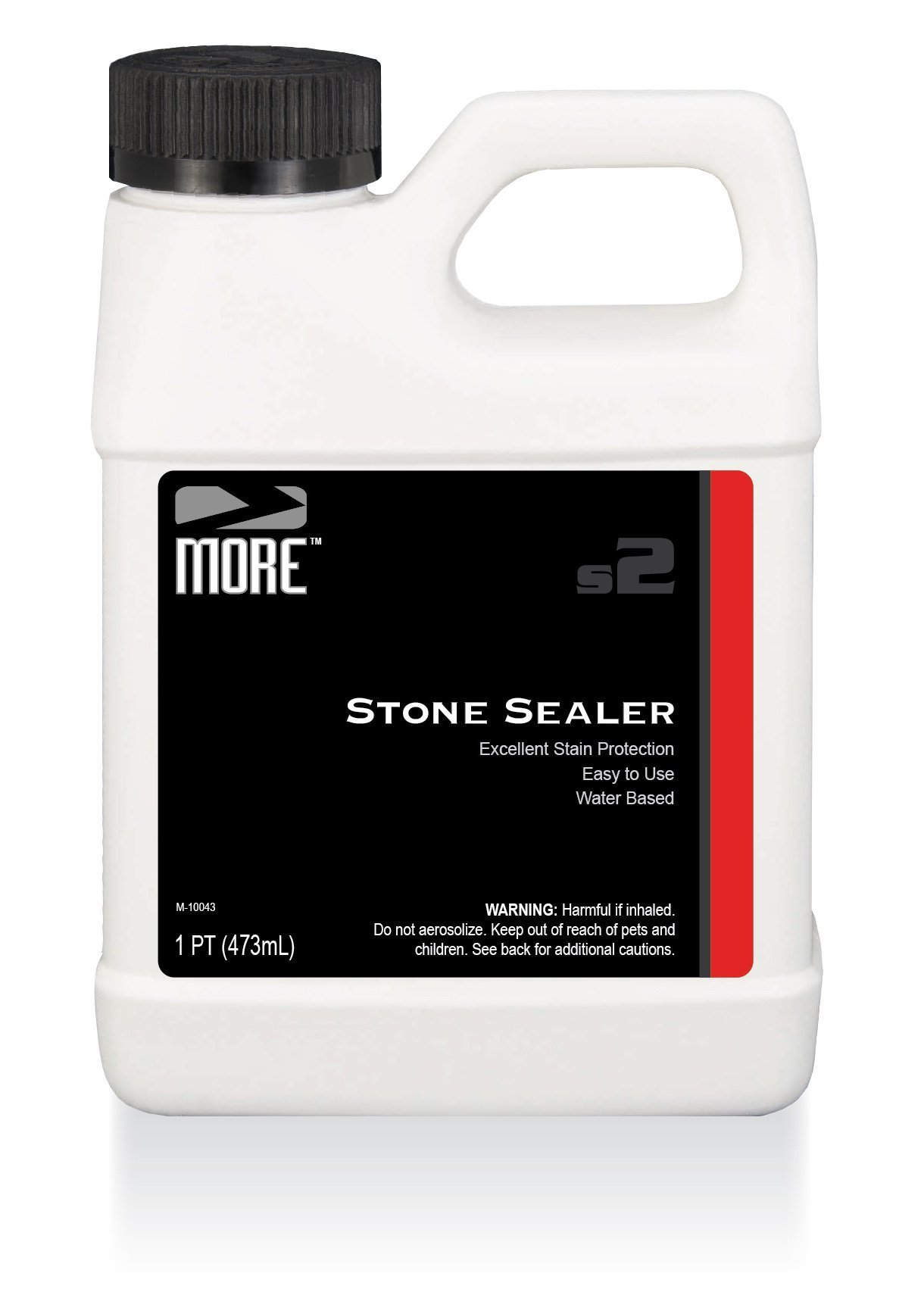 MORE Stone Sealer - Gentle, Water Based Formula - Protection for Natural Stone and Tile Surfaces [Pint / 16 oz.] by MORE Surface Care