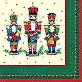 Nutcracker Christmas Party Napkins, 16ct