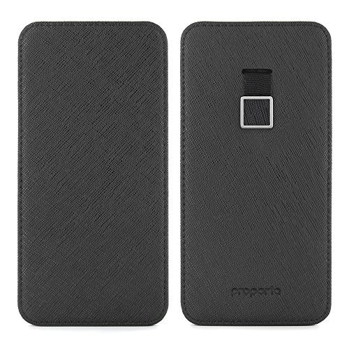 Official PROPORTA® Genuine Real Leather Sleeve for the iPhone 8 Plus / 7 Plus High Quality Premium Leather Sleeve for Apple iPhone 8 Plus / 7 Plus - Saffiano Leather Edition