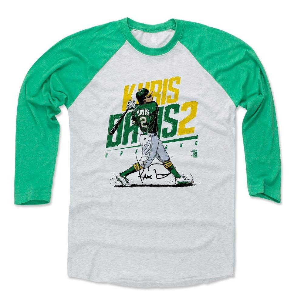 size 40 13622 e29d9 Amazon.com : 500 LEVEL Khris Davis Baseball Tee Shirt ...