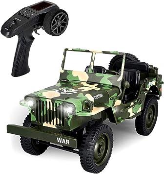 EACHINE EC01 Macchina Telecomandata Camion Militare Jeep 1/10 RC