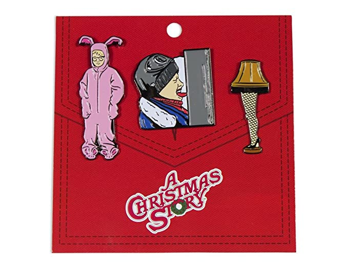 ripple junction a christmas story enamel pin 3 pack set - What Year Is Christmas Story Set