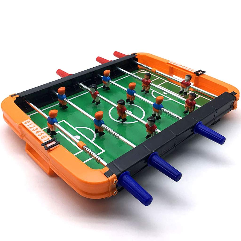 Zxq Desktop Football Table Toys Children's Casual Puzzle Multiplayer Interactive Toy Large Six-Seater Football Field