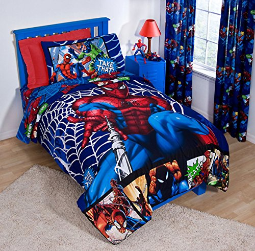 The Amazing Spider-Man Full Sheet Set Cotton Rich!
