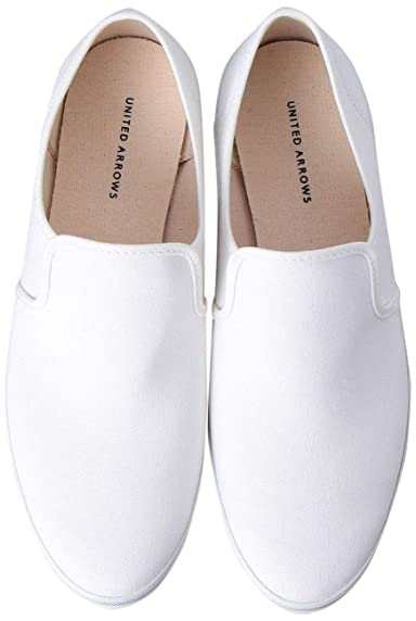 Canvas Slip On Sneakers 1331-599-8293: White