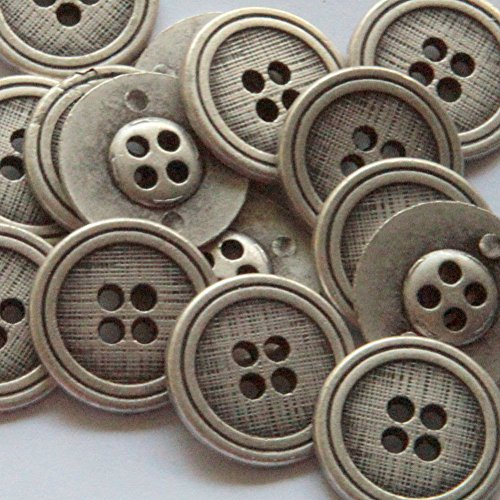 sewing buttons gray - 5