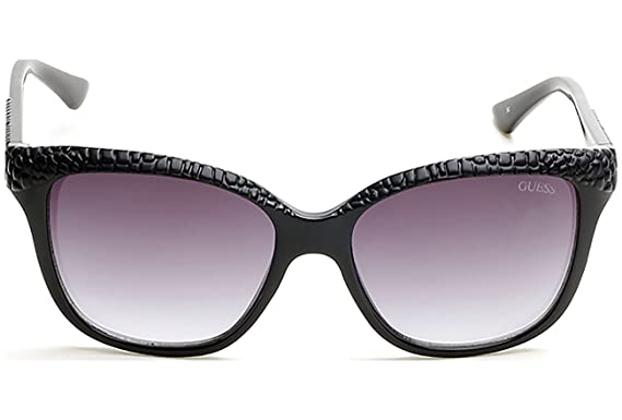 Guess Damen Sonnenbrille GU 7401, Black/Other/Gradient Smoke, 56